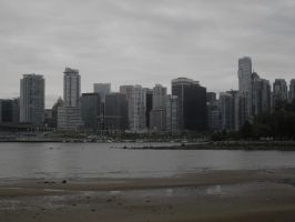 Vancouver skyline by squishysart
