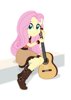 Shimmering Strings pt.4 (Fluttershy) by SkycatcherEquestria