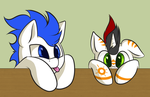 Silly pones :d by AC-whiteraven