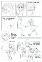 Free! little comic part I by Colascka
