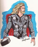 The Avengers: Thor by twigstudios