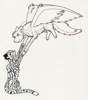 Lineart: Come Fly with Me by risha