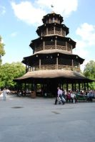 English Beer Garden Pagoda by tigpc