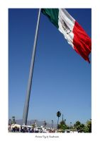 Mexican Flag by sandruccia