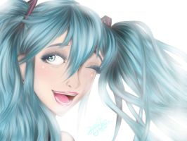 .:Hatsune Miku:. by PhinabellaPhan