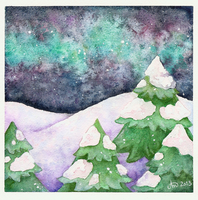 Northern Lights by Nashimus