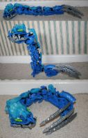 Bionicle MOC: Seasnake by Rahiden