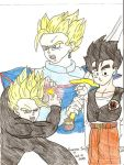 Teenager Gohan by Nessie-Noodlez