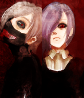 Tokyo Ghoul by HollywoodTonight