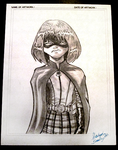 HitGirl sketch1 by CBGINK
