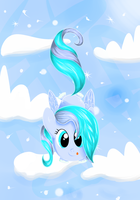 Snowy Sky by Firepoppy