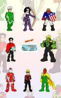 SHS Young Avengers by ishipit