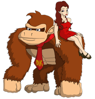 Pauline and DK by mortimermcmirestinks