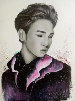 #9YearsWithSHINee - Key by Art-Ablaze
