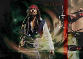 captain jack sparrow wallpaper by litlemusa