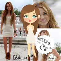 Miley Cyrus Doll by Beluu1D