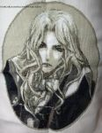 Alucard (Nocturne of Recollection) Cross Stitch by ShiroiKoumori