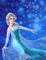 Frozen: Queen Elsa by kiko-burza