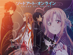 Sword Art Online - Kirito and Asuna by Inra98