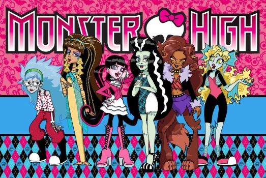 Dude, I'm so Monster High by VampireMeerkat