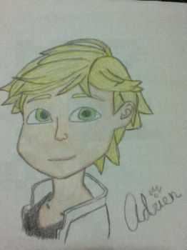 Adrien Agreste :3 by Blaze0107