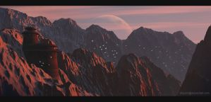 Jabba's mountain by DriPoint