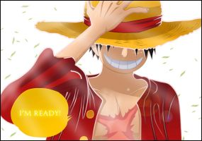 One Piece 598: Luffy is ready. by Xset