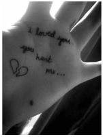 i loved you. by courtneydead