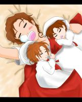 Collab-APH Lets take a Siesta- by yue-yashima15