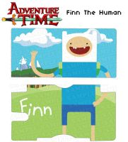 Adventure Time: Finn by DesignsByCorkyLunn