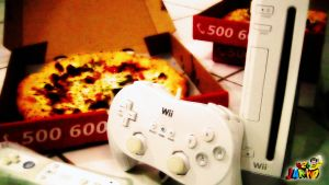Wii or Pizza..?? by Fajar526