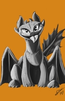 Toothless by BlindCoyote