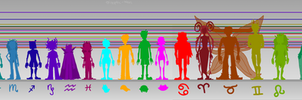 homestuck height chart by Epileptic-Trees