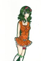 Megpoid Gumi by buttfabric