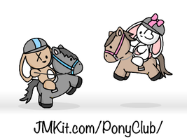 JMKit Make-A-Scene: Pony Club by JinxBunny