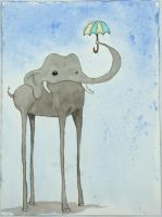 Rowan's Elephant by sticmann