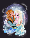 Sisters of Arendelle by CigarsCigarettes