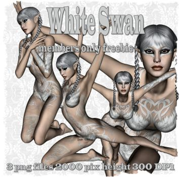 White Swan - FREE png stock by admin-fadewillow