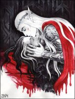 Last kiss by Candra