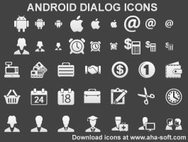 Android Dialog Icons by yourmailkept