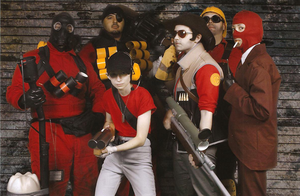 TF2 Cosplay by TheShortHorse