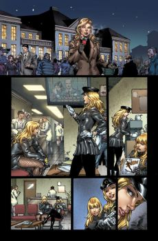 Birds of Prey issue 1 page 9 by ToolKitten