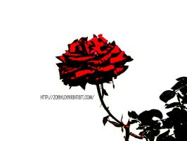 Rose Red III by Zoehi