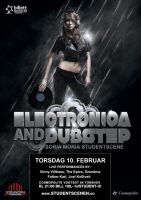 Electronica and Dubstep poster by putemonsteret