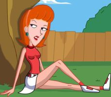 linda as candace from phineas and ferb by kpietersen
