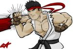 Ryu warm up by Materia-Master