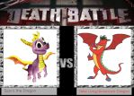 Death Battle Idea - Spyro vs. American Dragon by xFlowerstarx