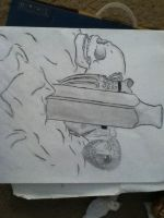 Art Project from 9th grade by xlJonnyQthanlx