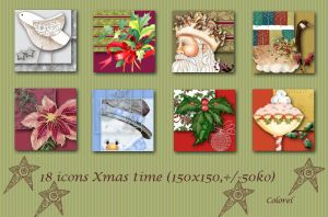 Xmas-time icons by libidules
