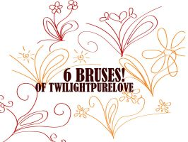 6 Brushes by twilightpurelove